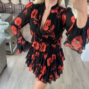 Forever 21 Contemporary Collection Floral Dress
